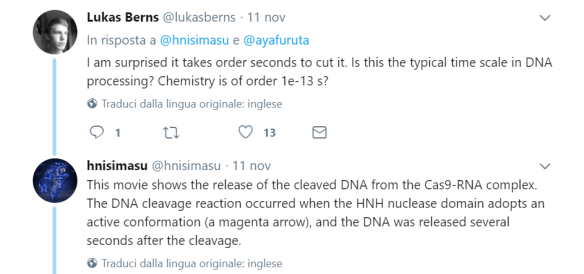 tweet CRISPR real time 1