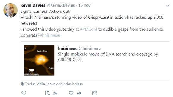 tweet CRISPR real time 3